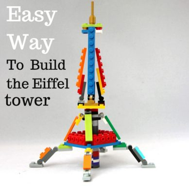 Instructions Build Eiffel Tower With Lego World Lego Challenge